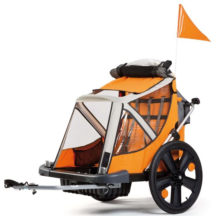 Bellelli B-Travel Orange utánfutó biciklihez - Brendon - 163077