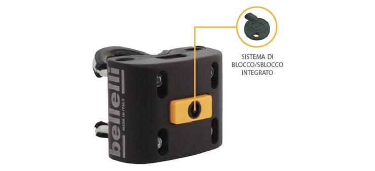 Bellelli B-Fix Mounting System  bicikliülésrögzítő - Brendon - 163293