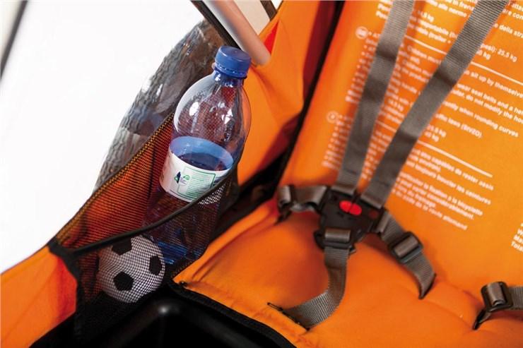 Bellelli B-Travel Orange utánfutó biciklihez - Brendon - 163437
