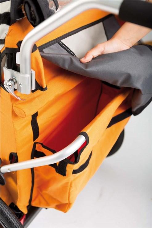 Bellelli B-Travel Orange utánfutó biciklihez - Brendon - 163438