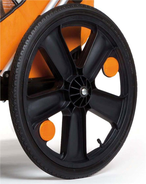 Bellelli B-Travel Orange utánfutó biciklihez - Brendon - 163442