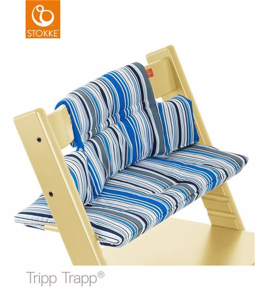 Stokke Tripp Trapp Cushion Ocean Stripe vložka do stoličky na kŕmenie - Brendon - 163803