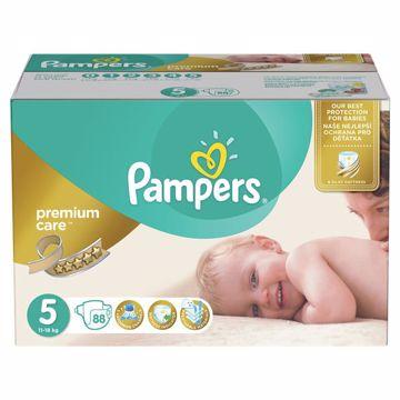 Pampers Premium Care Mega Box 5 Junior 88 pcs  jednorázové plienky - Brendon - 163811