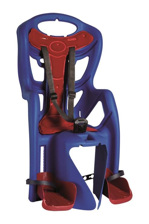 Bellelli Pepe Clamp Electric Blue sedadlo na bicykel zadné - Brendon - 163926