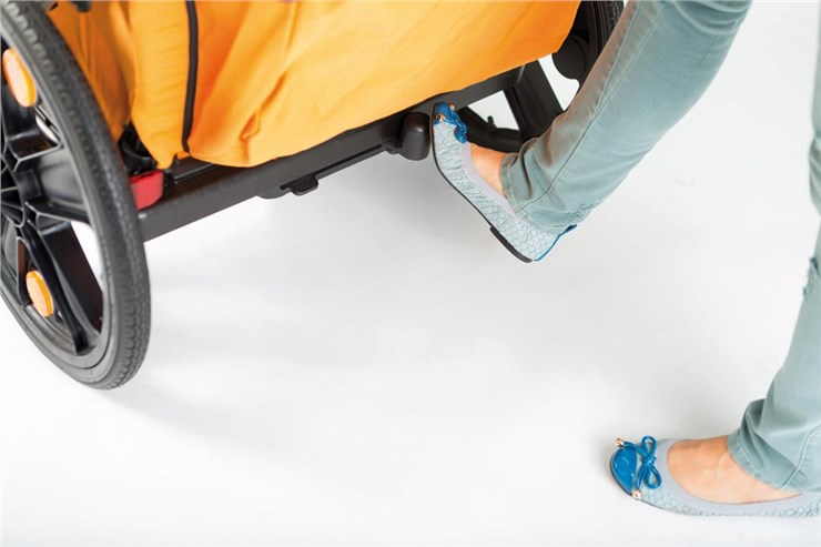 Bellelli B-Travel Orange príves na bicykel  - Brendon - 164223