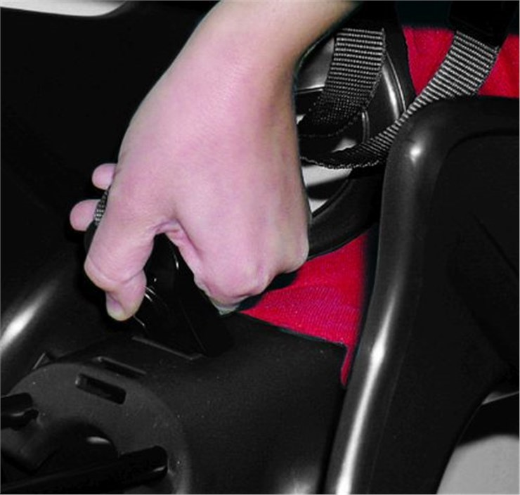 Bellelli Pepe Standard Multifix Electric Blue sedadlo na bicykel zadné - Brendon - 164297
