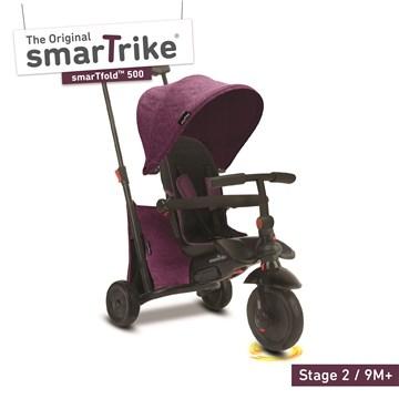 smarTrike SmarTfold 500 Melangue Purple tricykel - Brendon - 165224