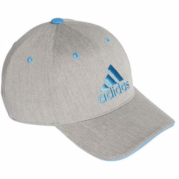 adidas DW4757 Grey-Cyan baseballová čiapka - Brendon - 165870