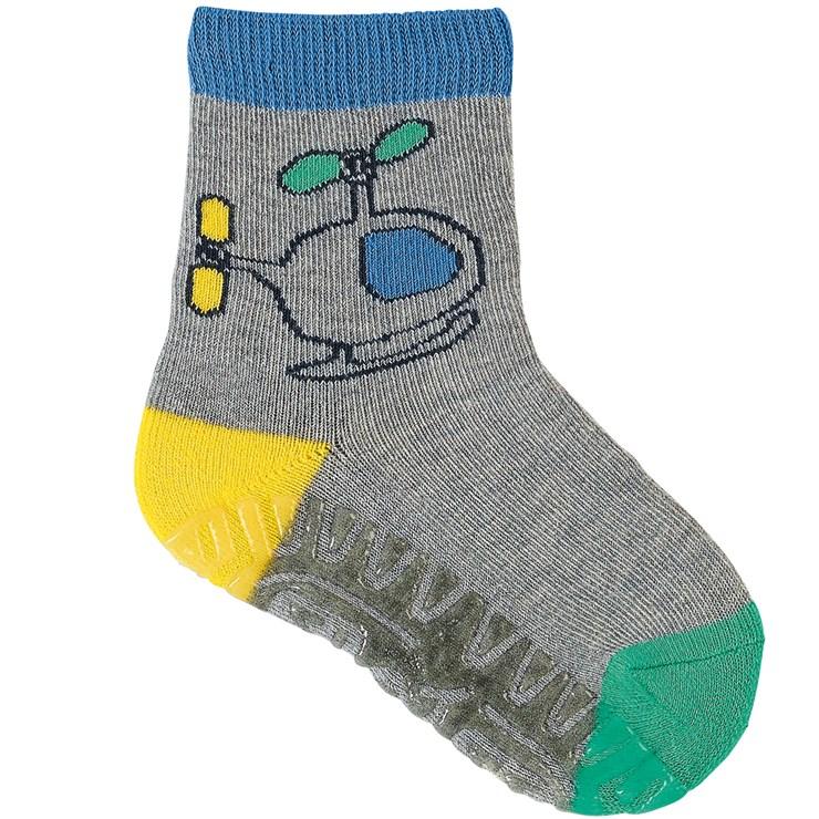 Sterntaler 8031908 542 Grey zokni - Brendon - 166025