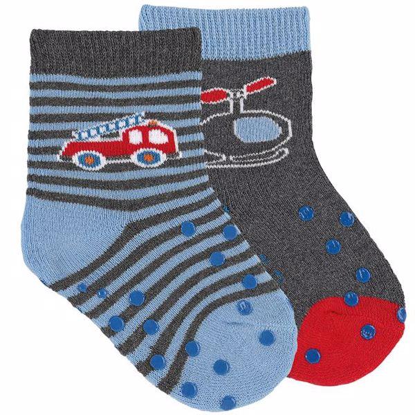 Sterntaler 8011923/2pcs 325 Grey Blue ponožky - Brendon - 166105