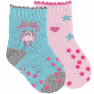 Sterntaler 8011924/2pcs 309 Rose Turq ponožky - Brendon - 166106