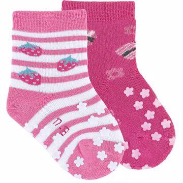 Sterntaler 8011925/2pcs 779 Orchidee ponožky - Brendon - 166107