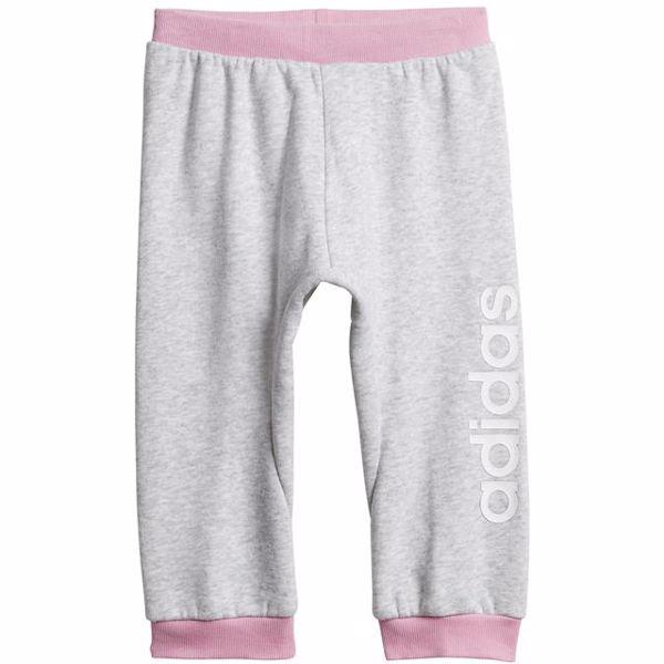 adidas DV1268 Grey-Rose joggingové nohavice - Brendon - 167251