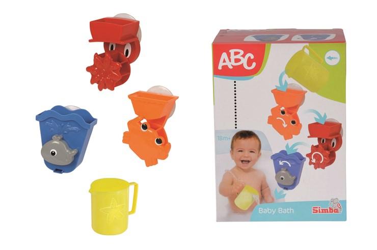 ABC Bath Play Set  fürdőjáték - Brendon - 167759