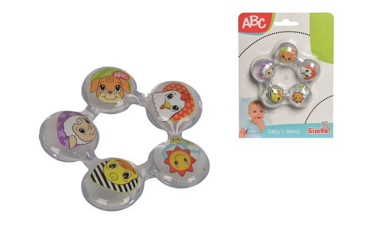 ABC Teething Ring With Water Filling  rágóka - Brendon - 167760