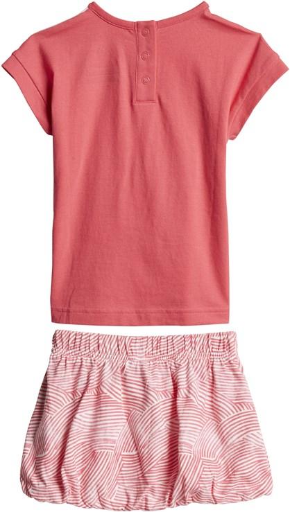 adidas CF7422 White-Pink 2 dielna sukňová súprava - Brendon - 168027