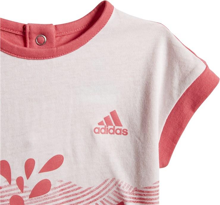 adidas CF7422 White-Pink 2 dielna sukňová súprava - Brendon - 168028
