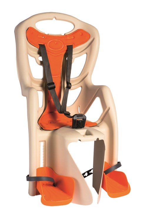 Bellelli Pepe Clamp Beige sedadlo na bicykel zadné - Brendon - 16363702