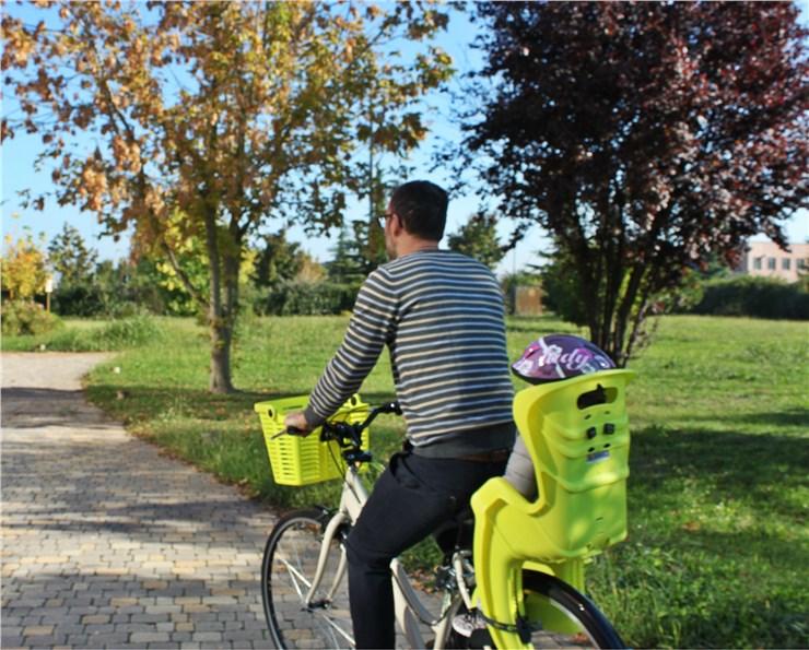 Bellelli Little Duck Standard Multifix Hi-Viz  sedadlo na bicykel zadné - Brendon - 16980102