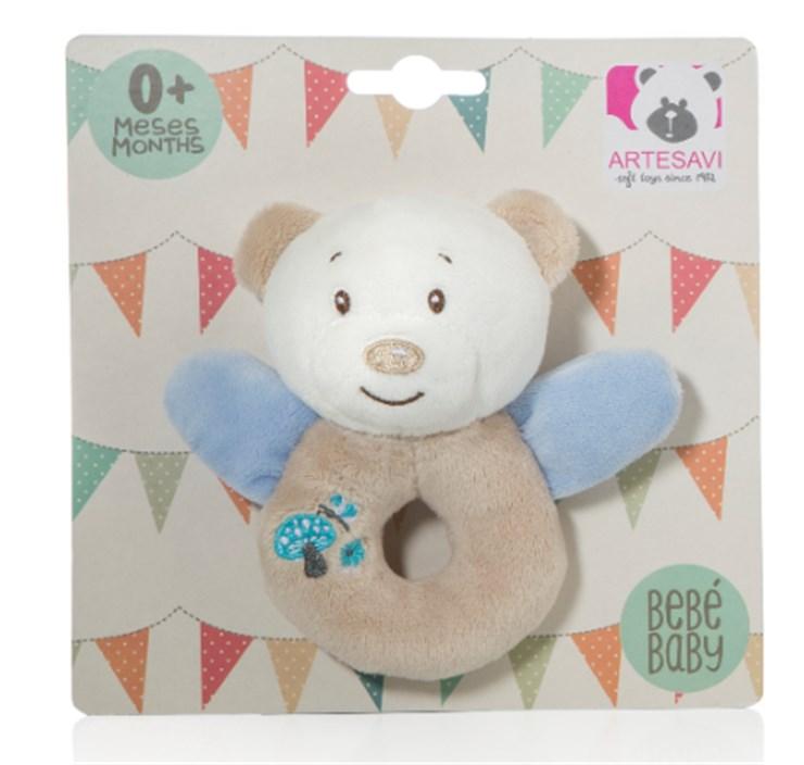Artesavi Bear 12cm Blue csörgő - Brendon - 21218301
