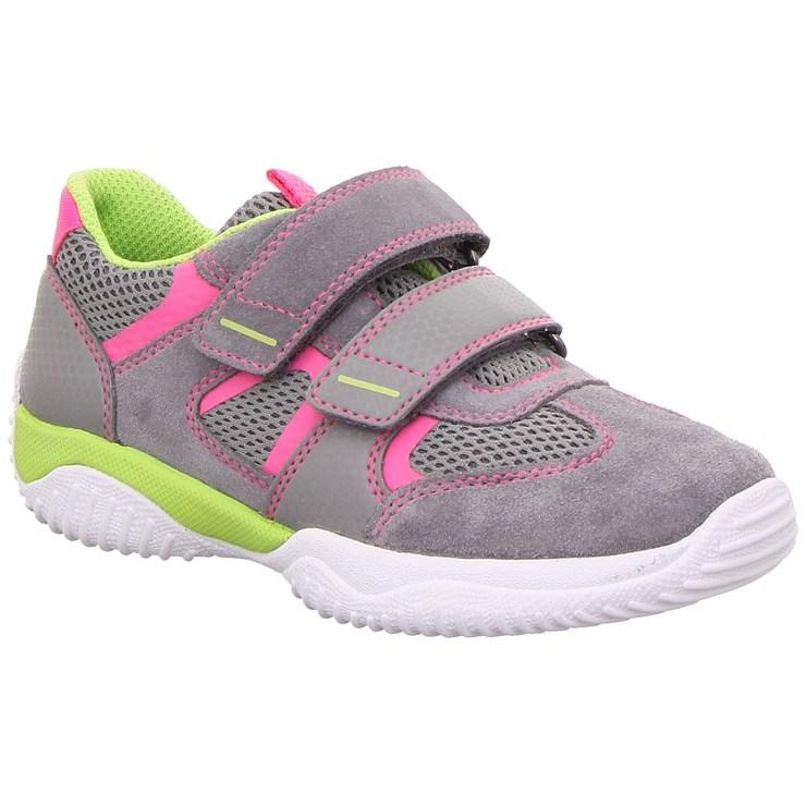 Superfit 9380 26 Hellgrau/Rosa športová obuv - Brendon - 21695102
