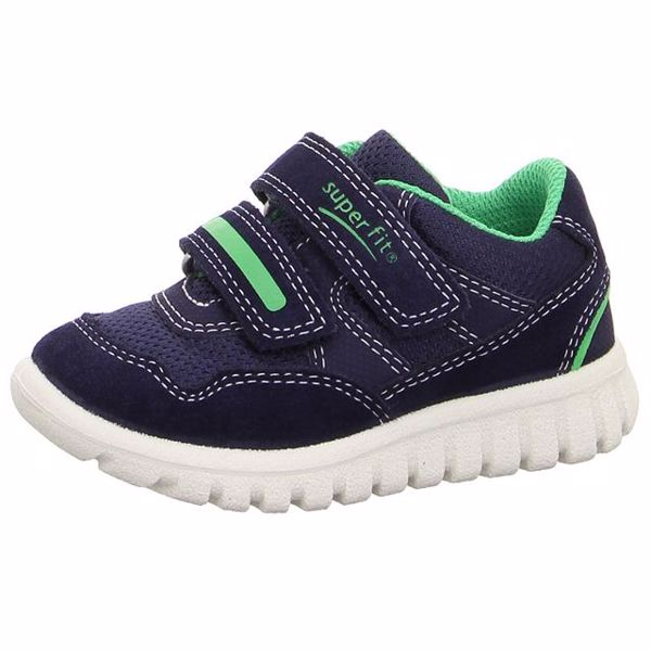 Superfit 9191 81 Blau/Grün 26-28 športová obuv - Brendon - 21731302