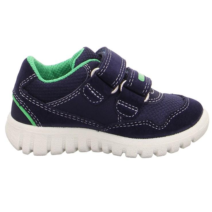 Superfit 9191 81 Blau/Grün 23-25 športová obuv - Brendon - 21732302
