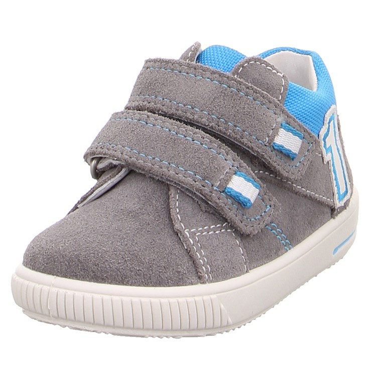 Superfit 9357 25 Hellgrau Blau 24-27 cipő - Brendon - 21739501
