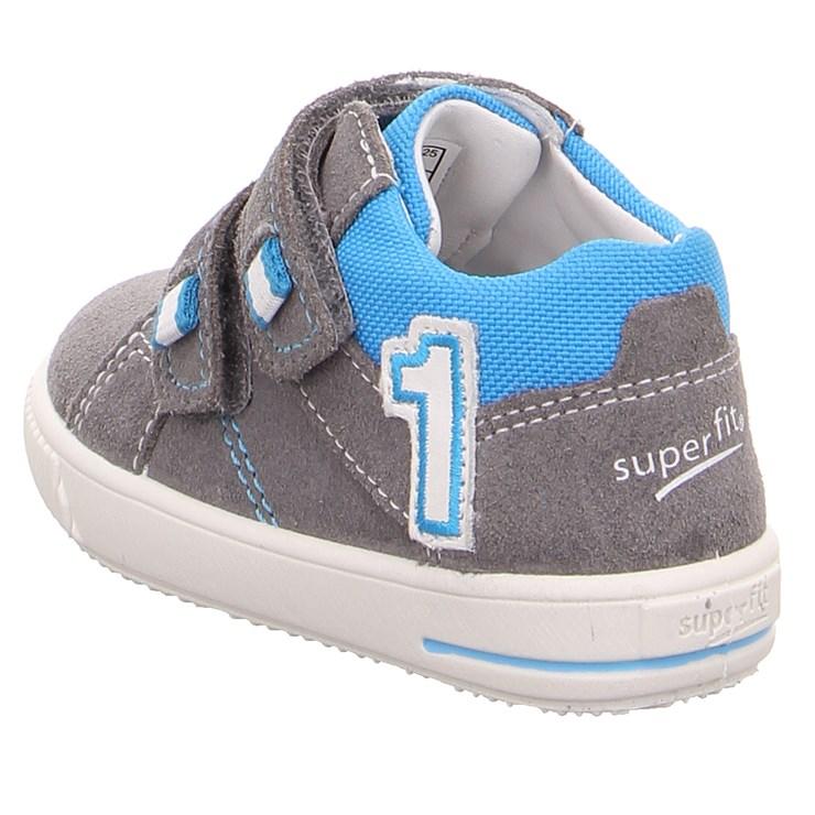 Superfit 9357 25 Hellgrau Blau 24-27 cipő - Brendon - 21740001