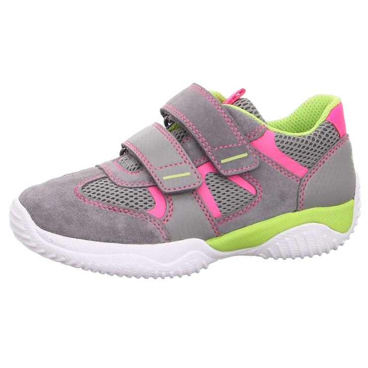 Superfit 9380 26 Hellgrau/Rosa športová obuv - Brendon - 21745102