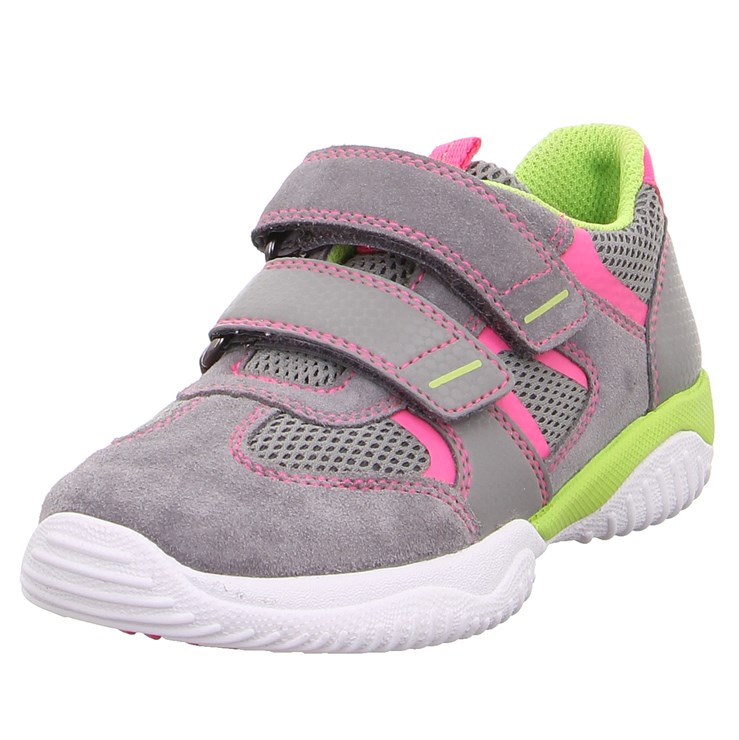 Superfit 9380 26 Hellgrau/Rosa športová obuv - Brendon - 21745202