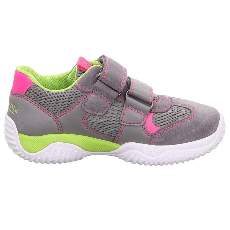 Superfit 9380 26 Hellgrau/Rosa športová obuv - Brendon - 21745402