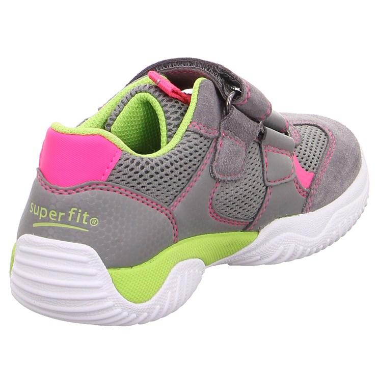 Superfit 9380 26 Hellgrau/Rosa športová obuv - Brendon - 21745502