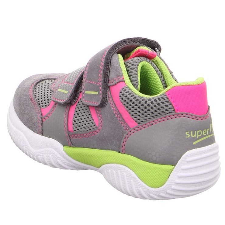 Superfit 9380 26 Hellgrau/Rosa športová obuv - Brendon - 21745602