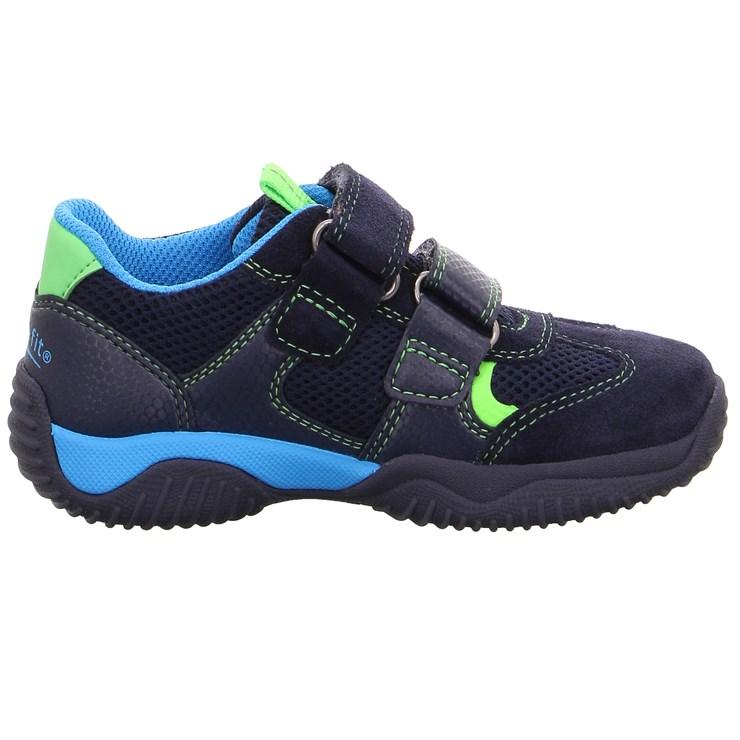 Superfit 9380 81 Blau/Grün športová obuv - Brendon - 21746102