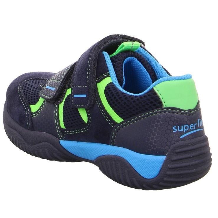 Superfit 9380 81 Blau/Grün športová obuv - Brendon - 21746302