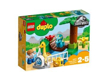 LEGO DUPLO Jurassic World Gentle Giants Petting Zoo 108  építőjáték - Brendon - 22144001