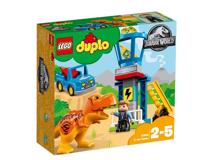 LEGO DUPLO Jurassic World T. rex Tower 10880  építőjáték - Brendon - 22144201