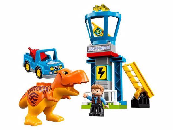LEGO DUPLO Jurassic World T. rex Tower 10880  stavebnica - Brendon - 22144302