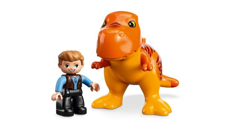 LEGO DUPLO Jurassic World T. rex Tower 10880  építőjáték - Brendon - 22144401
