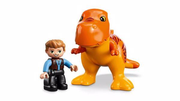 LEGO DUPLO Jurassic World T. rex Tower 10880  stavebnica - Brendon - 22144402