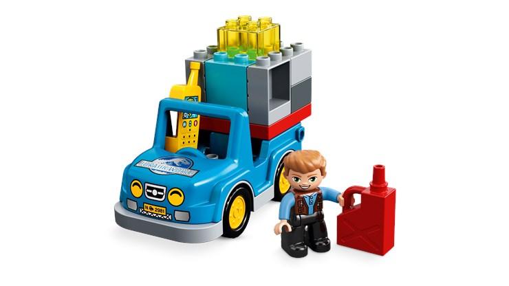 LEGO DUPLO Jurassic World T. rex Tower 10880  építőjáték - Brendon - 22144501