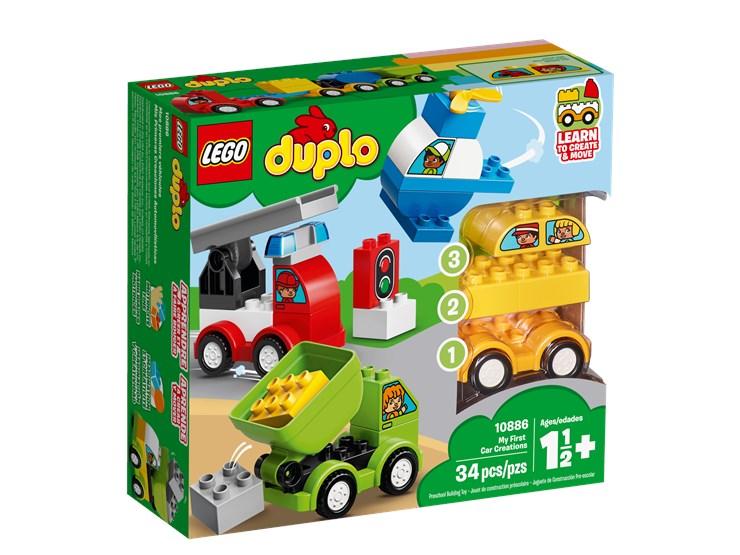 LEGO DUPLO My First Car Creations 10886  stavebnica - Brendon - 22145802