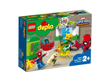 LEGO DUPLO Super Heroes Spider-Man vs. Electro 10893  építőjáték - Brendon - 22146301