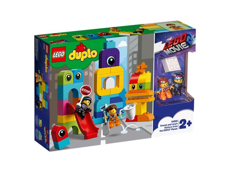 LEGO DUPLO LEGO Movie 2 Emmet&Lucy's Visitors 10895   építőjáték - Brendon - 22146701