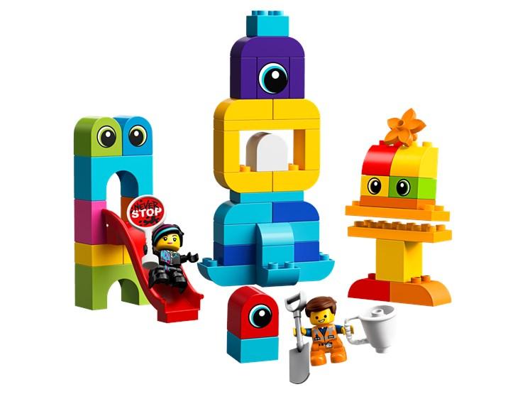 LEGO DUPLO LEGO Movie 2 Emmet&Lucy's Visitors 10895   építőjáték - Brendon - 22146801