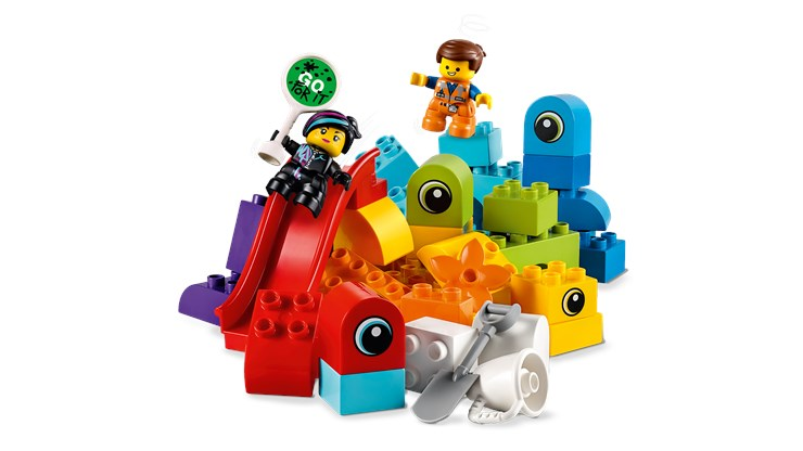 LEGO DUPLO LEGO Movie 2 Emmet&Lucy's Visitors 10895   építőjáték - Brendon - 22146901
