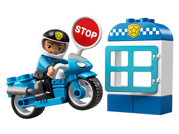 LEGO DUPLO Town Police Bike 10900  stavebnica - Brendon - 22148002