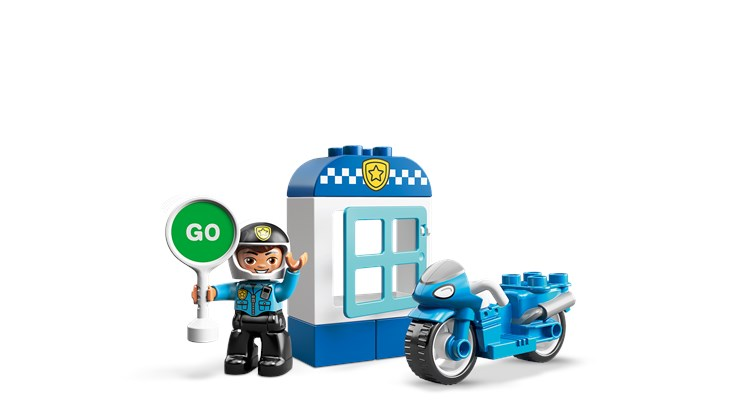 LEGO DUPLO Town Police Bike 10900  stavebnica - Brendon - 22148102