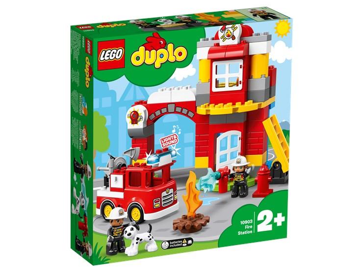 LEGO DUPLO Town Fire Station 10903  építőjáték - Brendon - 22149201